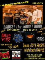 The Purge Radio Show Presents Bridget The Midget Band