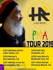 HR of Bad Brains – PMA Tour 2019